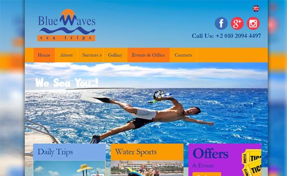 Blue Waves Site